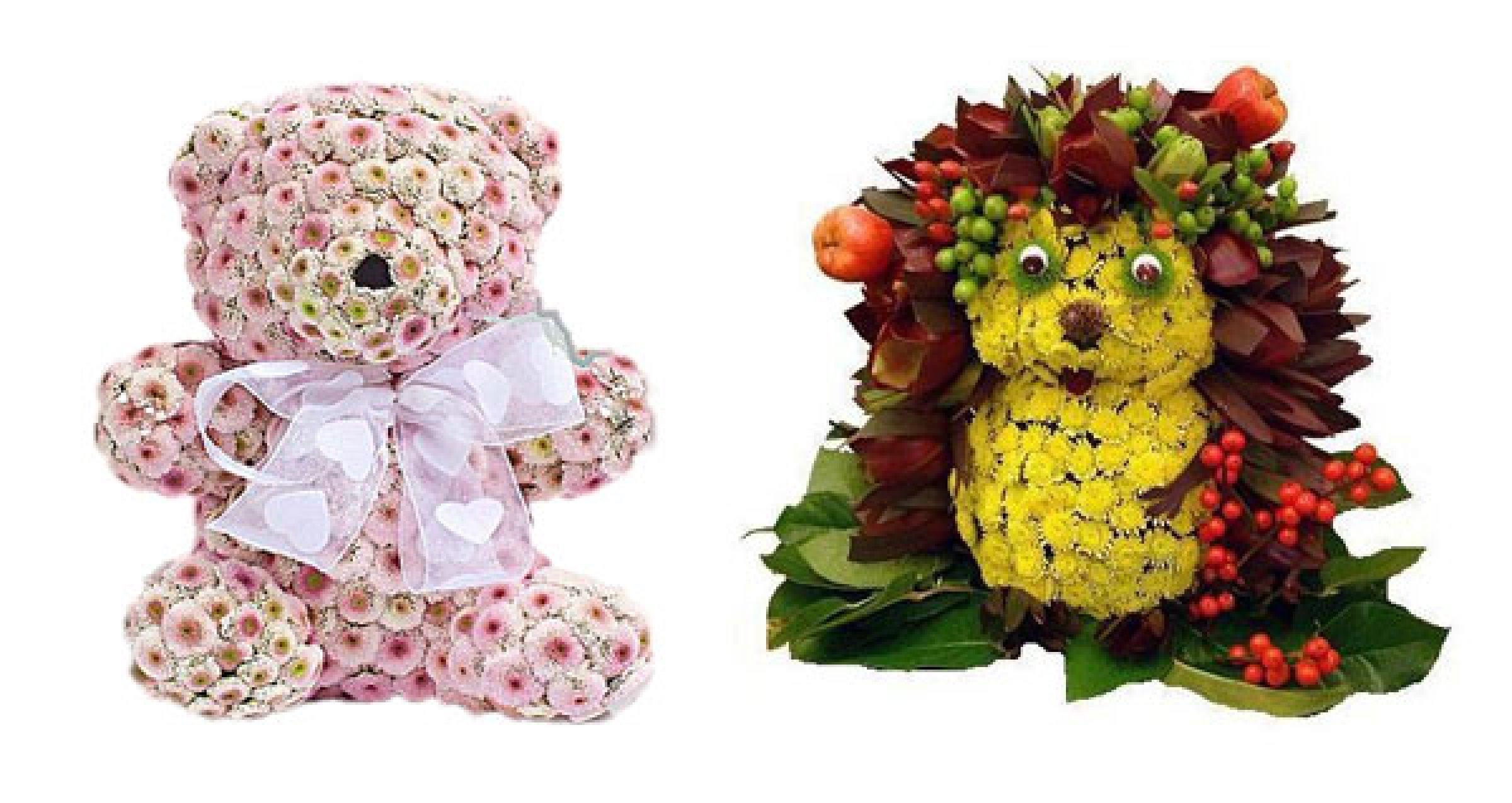 Подарки из цветов сайт