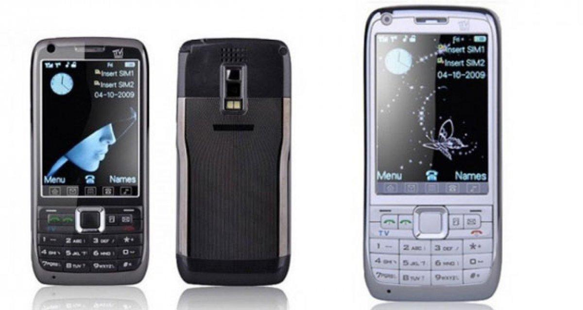 Телефон с телевизором на 2 сим-карты TV mobile E71!