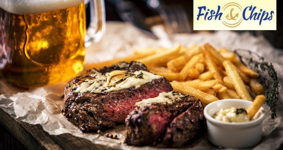 -30% на всю кухню и бар в пабе Fish&Chips на ул. Восстания! Ирландская и английская кухня