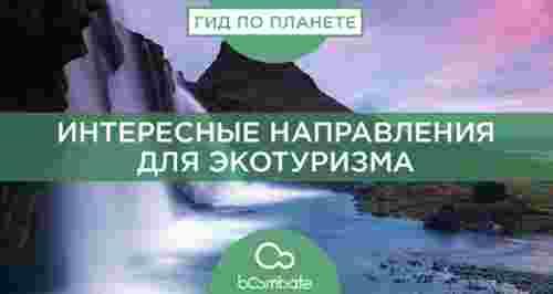 Интересные направления для экотуризма