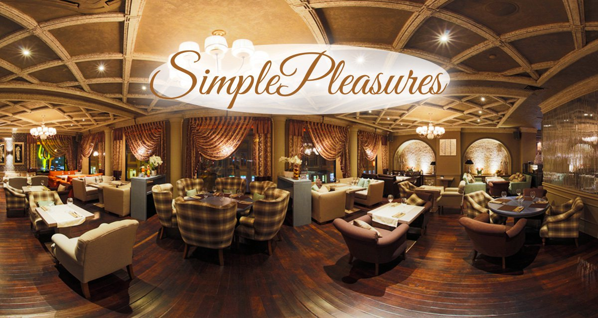 -40% на меню и напитки в ресторане Simple Pleasures