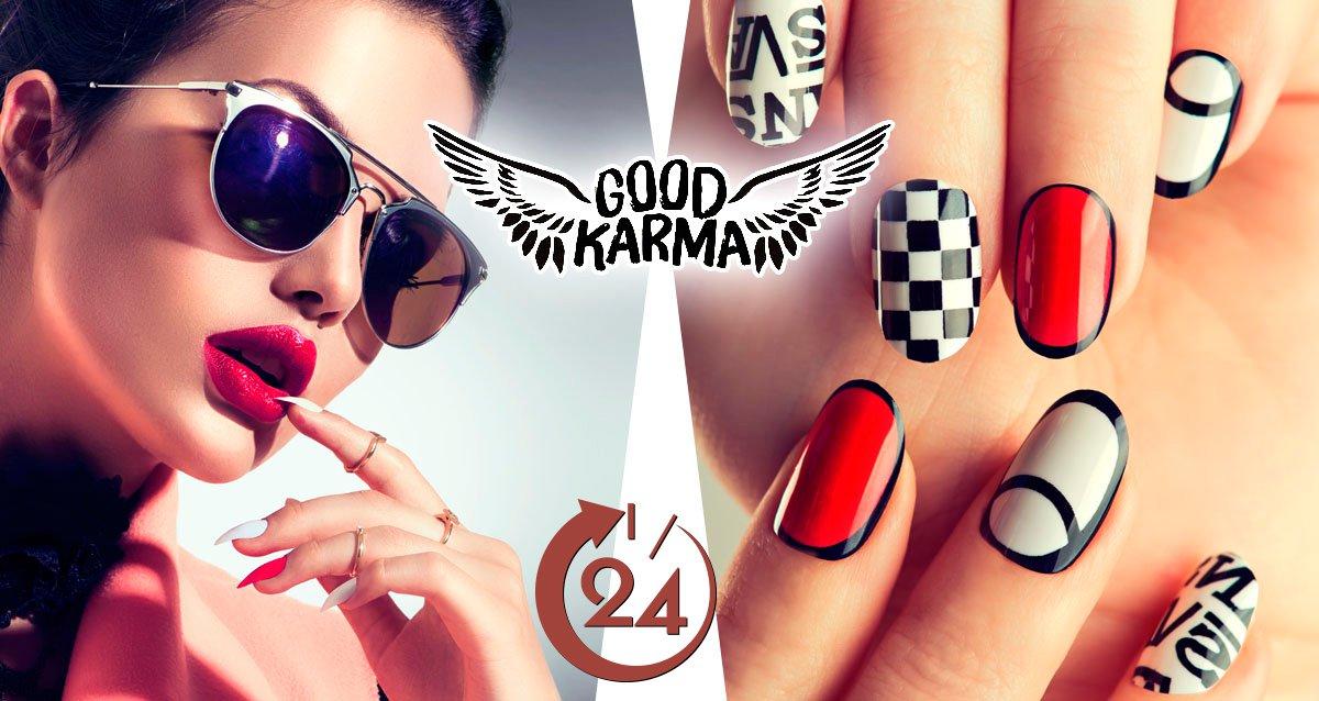 -78% на ногтевой сервис в «Территория Good Karma»