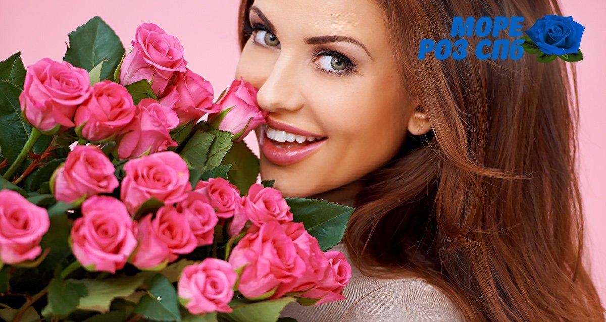 -67% на цветы от компании «Море роз СПБ»