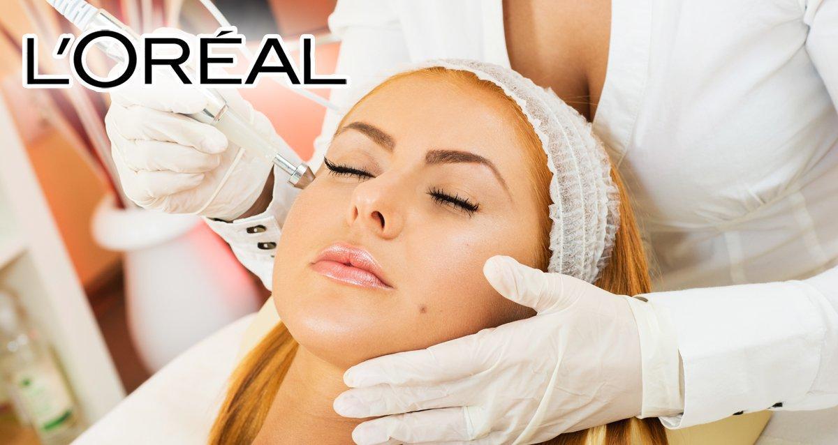 -80% на косметологию в студии L'OREAL
