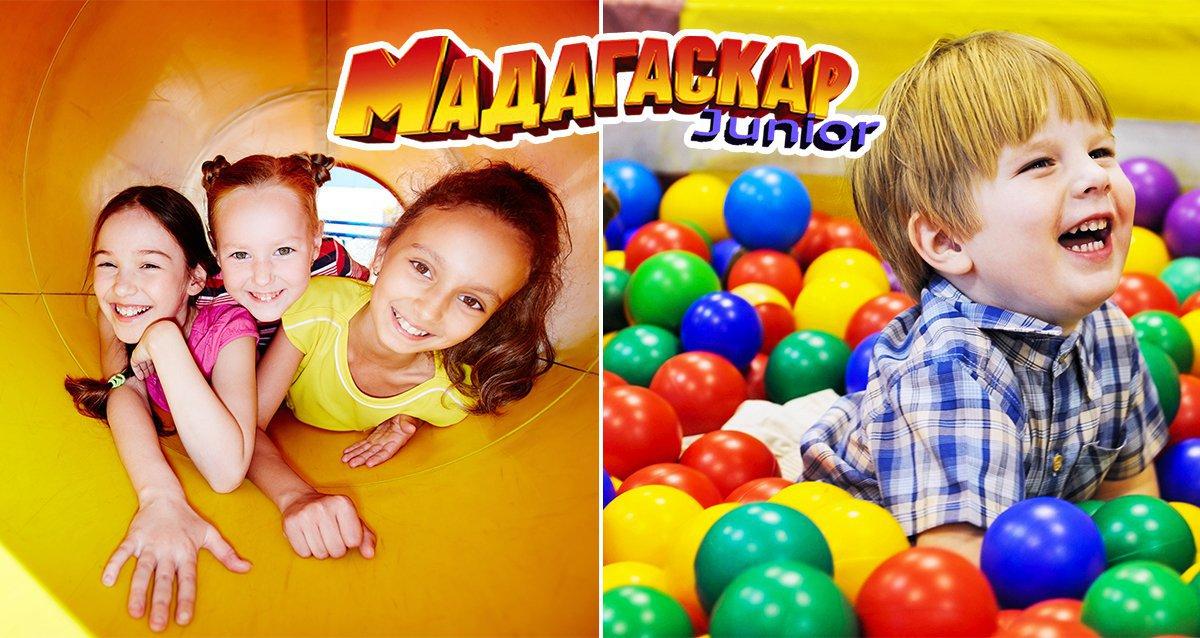 -50% в детском центре «Мадагаскар Junior»