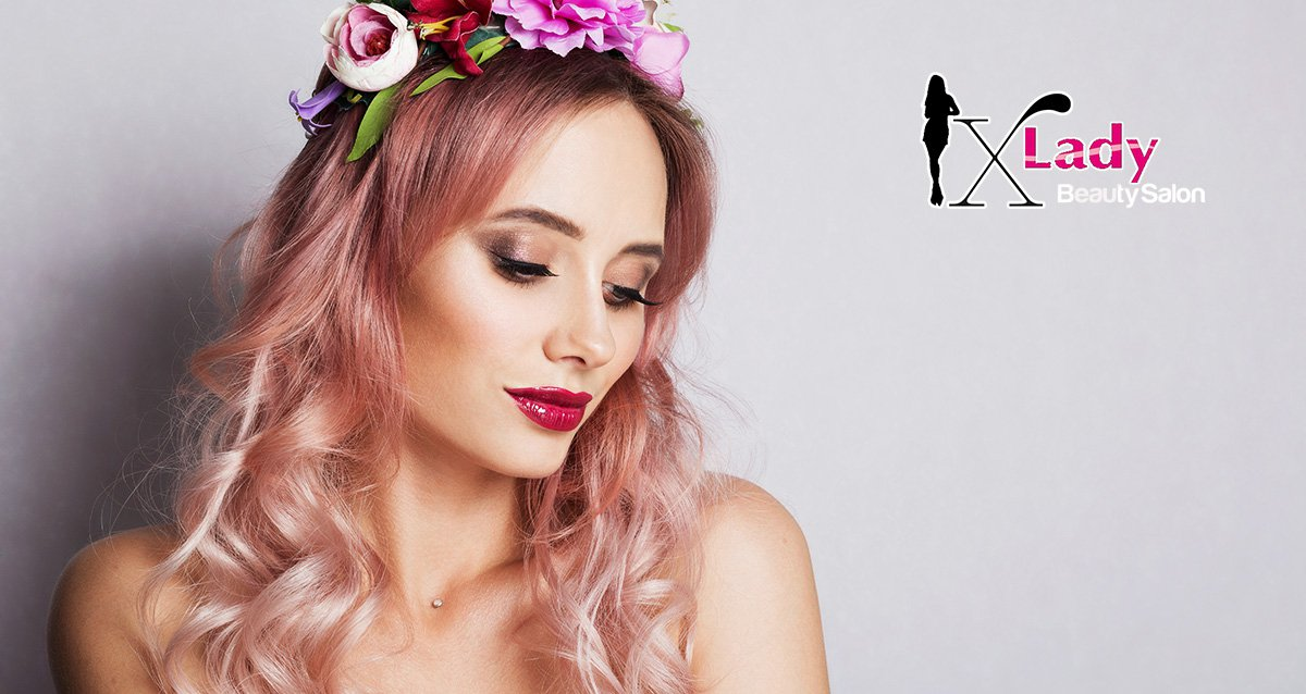 -65% на услуги для волос в салоне XLady