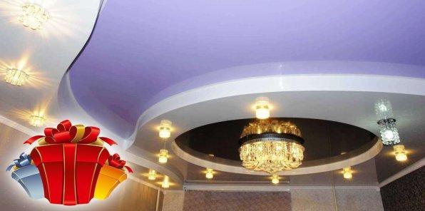 -67% на натяжные потолки от Maxi Ceiling