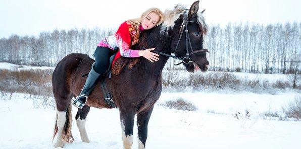 74% на конные прогулки, фотосессию в Марфино