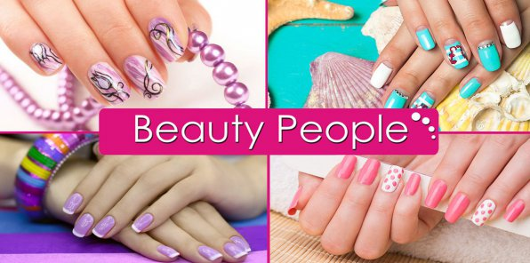 -75% на услуги для ногтей в салоне Beauty People