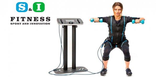 Пробная EMS-тренировка бесплатно в сети студий S&I Fitness!