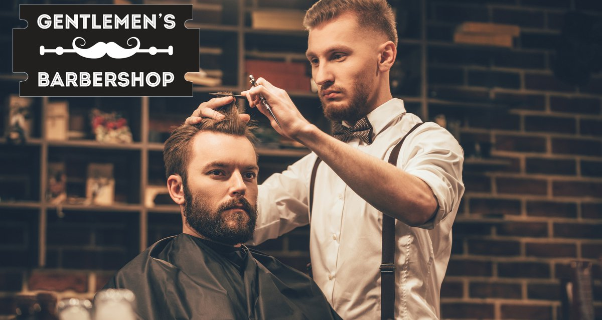 -50% на услуги в Gentlemen's Barbershop
