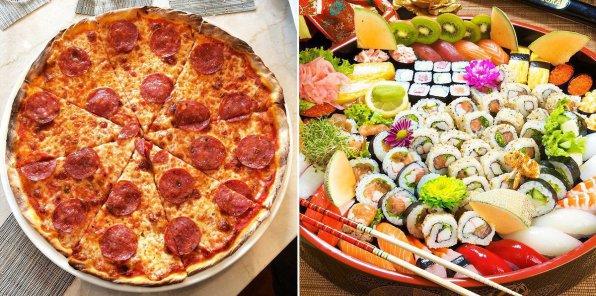 -60% от службы доставки TaxoPizza