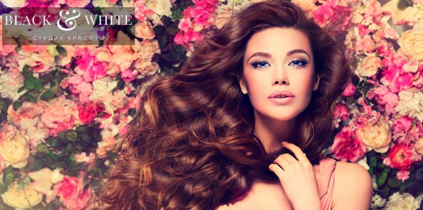 -70% на услуги для волос в студии BlackWhite