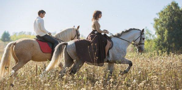 -35% на конную прогулку в клубе «Баядера»