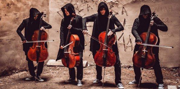 Концерт «Мировые рок-хиты на виолончелях»