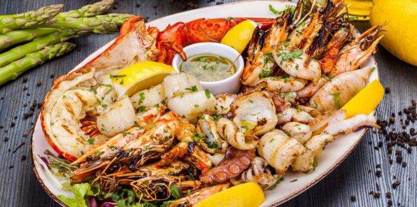 До -40% на все в рыбном ресторане «The Фиш»