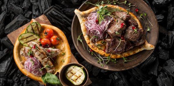 -50% в кафе грузинской кухни «Хванчкара» и «Киндзмараули»