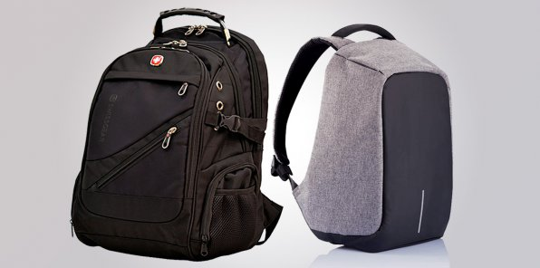 -65% на рюкзаки KALIDI Bobby и Swissgear