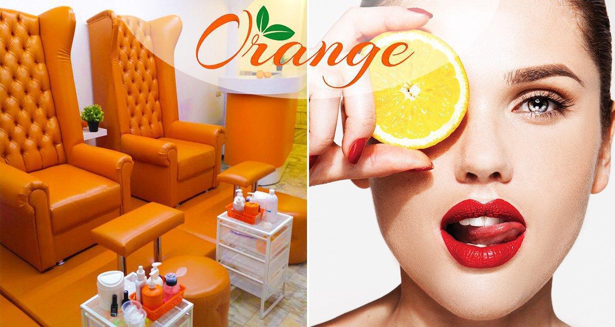 -60% на ногтевой сервис в студии красоты ORANGE