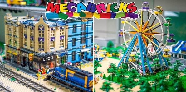 -50% на посещение музея LEGO Megabricks