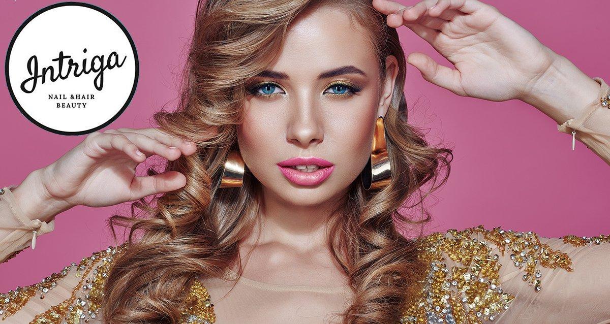До -83% на услуги для волос в салоне «Интрига»