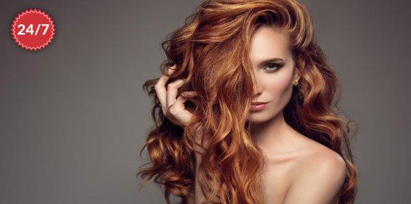 До -50% на услуги для волос на Фрунзенской
