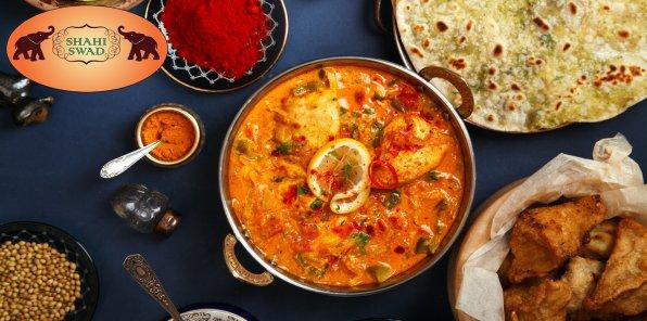 -50% на меню в ресторане Shahi Swad