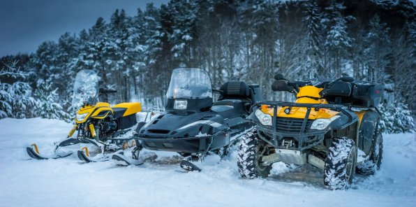 До -78% заезды на квадроциклах и снегоходах в Москве