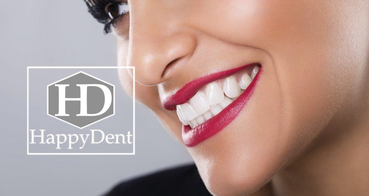 До -90% в стоматологии «Хэппи Дент»