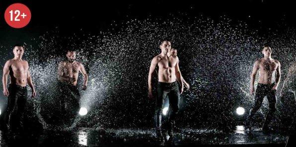 -50% на шоу под дождем III «Признание в любви»