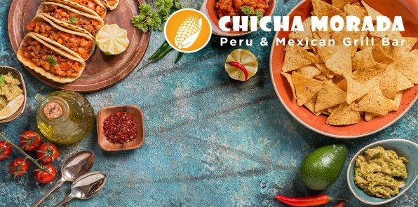 -50% на меню в ресторане CHICHA MORADA