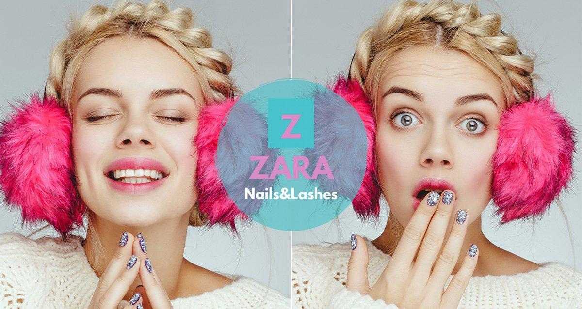 До -89% на ногтевой сервис в студии красоты ZARA Nails&Lashes