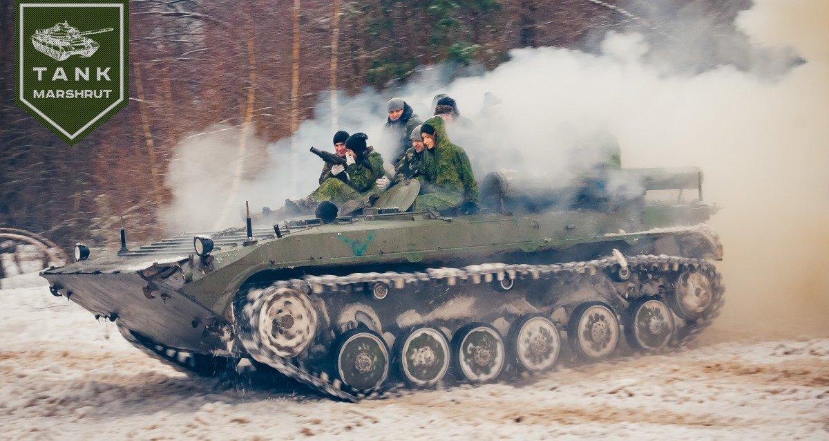 Скидка 20% на программу «Танковые соревнования»