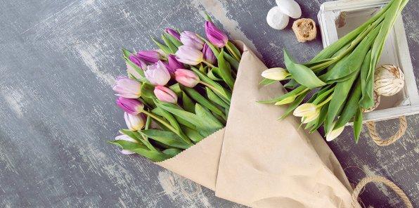 Скидки до 50% на букеты от Lavanda flowers