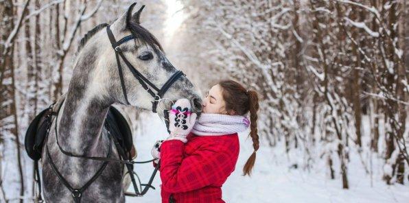 Скидка 50% на конные прогулки по лесопарку