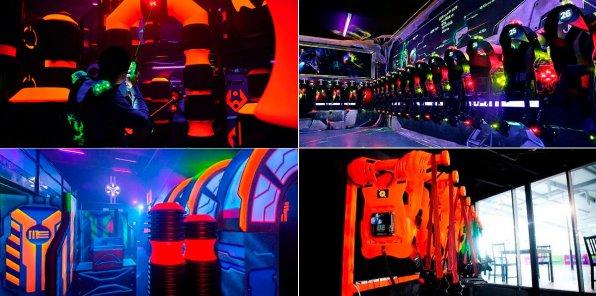 Скидки до 40% на аренду зала и игру лазертаг Q-ZAR