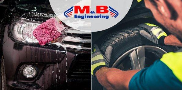 Скидки до 70% на мойку и шиномонтаж в автосервисе «МБ Авто»