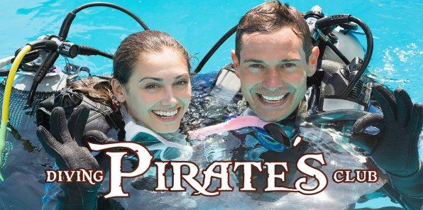 Скидки до 45% на погружение с аквалангом в дайвинг-клубе PIRATES