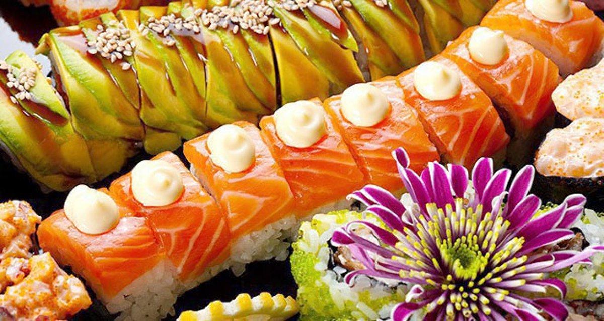 Суши-торт: вкусно и красиво