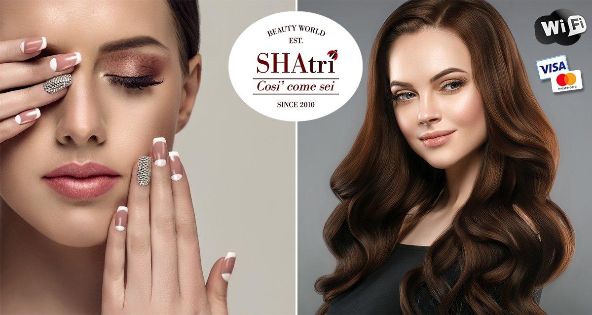 Скидки до 50% на услуги салона красоты SHATRI