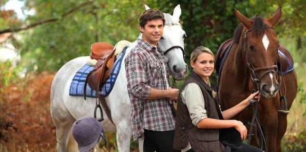 Скидки до 72% на конную прогулку