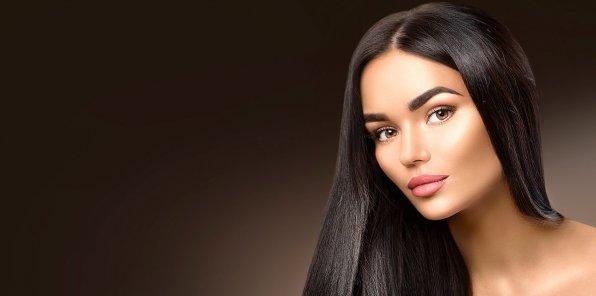 Скидки до 85% на выпрямление волос