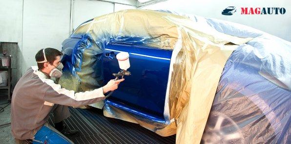Скидки до 50% на кузовной ремонт и покраску