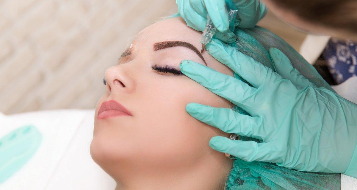 Скидка 80% на перманентный макияж