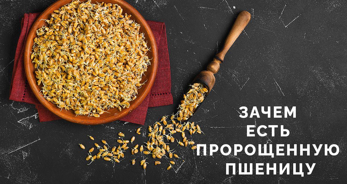 Зачем есть пророщенную пшеницу