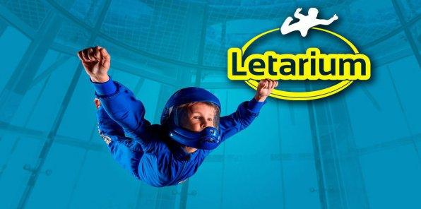 Скидки до 58% на полет в аэротрубе «Летариум»