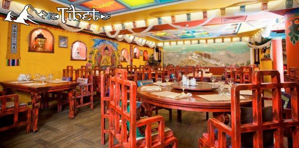 Скидка 40% на все в ресторане «Тибет»