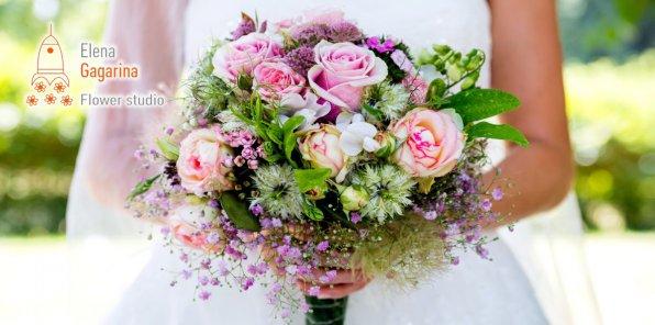 Скидки до 50% от Flower studio Elena Gagarina