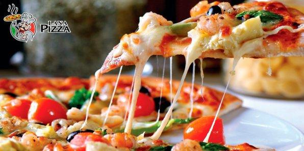 Скидка 50% на пиццу и пироги от «Лана Пицца»