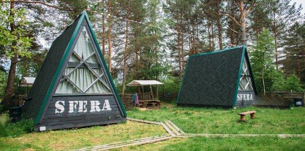 Скидки до 50% на отдых в экокемпинге SFERA